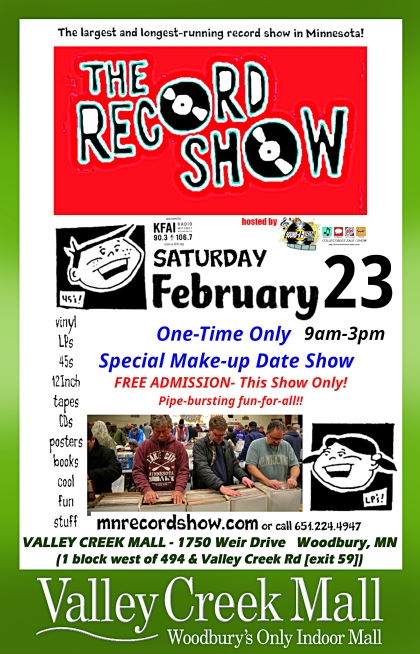 MN Record Show at VCM Feb 23